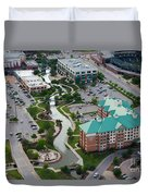 Bricktown Ballpark C Duvet Cover by Cooper Ross