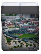 Bricktown Ballpark D Duvet Cover by Cooper Ross