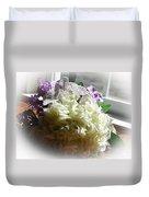 Bridal Butterfly Duvet Cover
