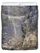 Bridal Veil Blowing In The Wind Duvet Cover