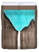 Bridalveil Fall Original Painting Sold Duvet Cover
