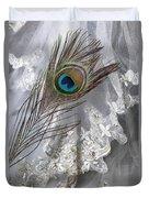 Bridal Veil Duvet Cover