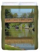 Bridge 238b Oxford Canal Duvet Cover