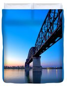 Bridge Abstract Duvet Cover