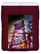 Bridge At Sunrise Duvet Cover