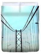 Bridge Crossing Duvet Cover