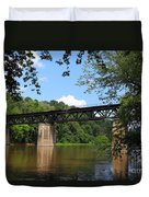 Bridge Crossing The Potomac River Duvet Cover