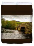 Bridge Near Cymer Abbey Duvet Cover