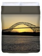 Bridge Of The Americas Panama Duvet Cover