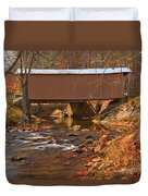 Bridge Over Smith River Duvet Cover
