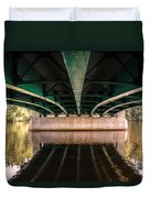 Bridge Over The Connecticut River Duvet Cover