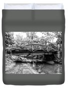 Bridge Over The Delaware Canal At Washington's Crossing Duvet Cover