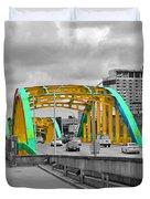 Bridge Pop Duvet Cover