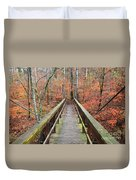 Bridge To Fall Duvet Cover