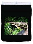 Bridge To Hana Maui Duvet Cover