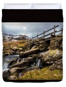 Bridge To Idwal Duvet Cover