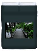 Bridge To Japanese Serenity Duvet Cover