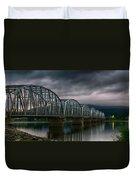Bridge To Teslin Duvet Cover