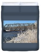 Bridge To Winter Duvet Cover