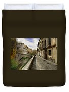 Bridges At Darro Street In Historic Albaycin In Granada Duvet Cover