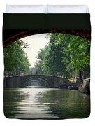 Bridges In Amsterdam Duvet Cover
