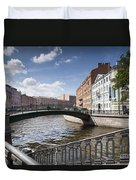 Bridges Of St. Petersburg Duvet Cover