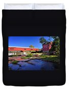 Bridgeton Covered Bridge 4 Duvet Cover by Marty Koch