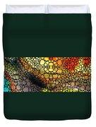 Bridging The Gap - Stone Rock'd Art Print Duvet Cover