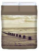 Bridlington Beach Duvet Cover