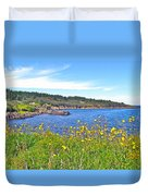Brier Island In Digby Neck-ns Duvet Cover