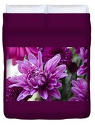 Bright And Beautiful Easter Mums Duvet Cover