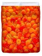 Bright And Orange Duvet Cover
