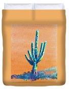Bright Cactus Duvet Cover