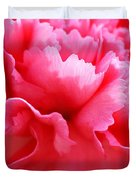 Bright Carnation Duvet Cover