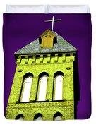 Bright Cross Tower Duvet Cover