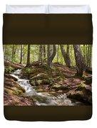 Bright Forest Creek Duvet Cover