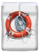 Bright Life Saving Ring Duvet Cover