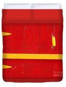 Bright Old Door Duvet Cover