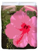 Bright Pink Duvet Cover