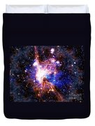 Bright Side Of The Black Hole Duvet Cover