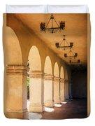 Bright Sun Cool Shade Balboa Park Duvet Cover