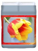 Bright Tulip Duvet Cover