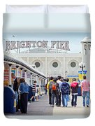 Brighton Pier Duvet Cover