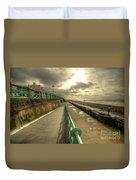 Brighton Promenade Duvet Cover