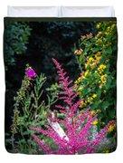 Brilliant Astilbe In Markree Castle Gardens Duvet Cover
