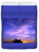 Brilliant Blue Sunrise Duvet Cover