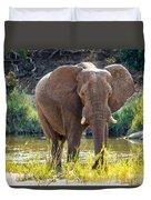 Brilliant Elephant Duvet Cover