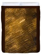 Brilliant Gold And Gems And Jewels Duvet Cover