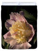Brilliant Spring Sunshine - A Showy Pink Peony From My Garden Duvet Cover
