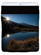 Brilliant Sunrise Duvet Cover